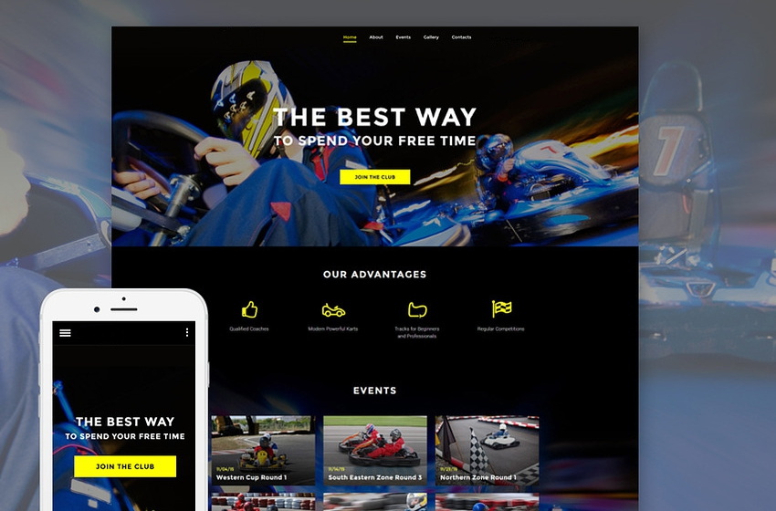 Karting Website